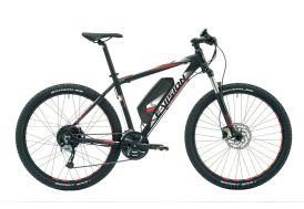 E-vélo Dhuez 27,5 pouces noir pour homme