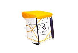 Bac de Transport en Métal et Textile pour Vélo Cargo Addbike Carry'Box