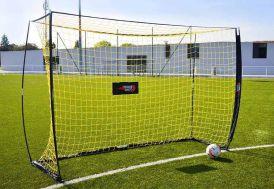 But football quickfire lynxsport acier transportable rapide 3 x 2 m