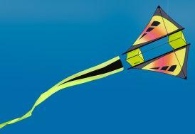 Cerf-volant Monofil Box Kite Isotope 127 x 104 cm