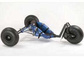 Buggy pour traction terrestre en inox dragster de libre