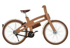 Vélo électrique en bois E-bough