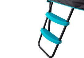 échelle pour trampoline infinity bleue et noire