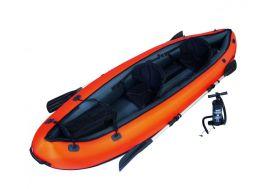 Kayak 2 Places Gonflable Ventura 330x94x48cm + 2 Pagaies + Pompe
