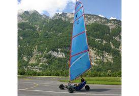Char à Voile Micro Race Inox avec Voile 3,5m², 4,6m² ou 6,5m²