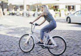 Vélo de ville Oko 26 pouces 8 vitesses shimano al silver