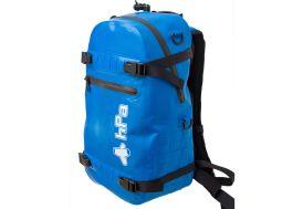 devant du sac infladry bleu 25 litres