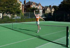 Poteaux de Tennis 76mm en acier carré