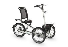 """vélo électrique tricycle tibo acier 20"""""""