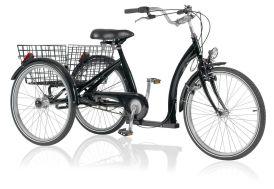 Tricycle standard 24 pouces pour adultes modèle marchepied bas