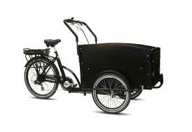 Triporteur électrique pour adulte vélo cargo Troy noir