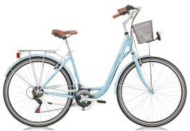 Vélo central park 28 pouces bleu