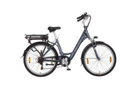 Vélo électrique femme cadre aluminium 46 cm roues 26 pouces