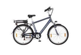 Vélo électrique homme cadre 48 cm aluminium roues 26 pouces