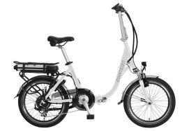 Vélo électrique pliant E-Vision Matisse Blanc