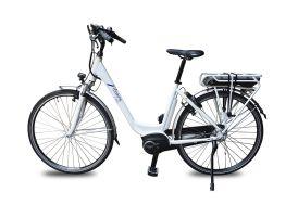 Vélo de ville électrique à moteur central 250 W - 36 V / 11,1 Ah