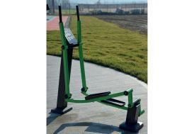 Vélo elliptique d'extérieur en acier galvanisé Helios Ellittica