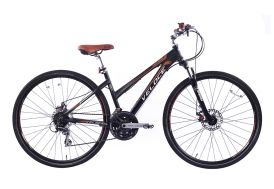 Vélo de Trekking Femme Fastlane 28 Pouces 24 Vitesses