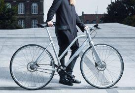 Vélo Urbain NYC Lady Shimano Alfine Di2 11 Vitesses silver