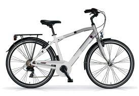 Vélo de ville homme People 28 pouces 7 vitesses - Blanc